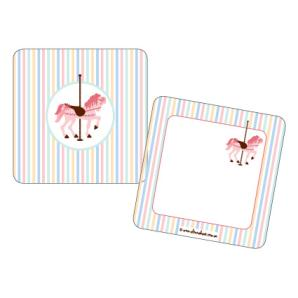 Take Me To The Fair Carnival Birthday Gift Tags