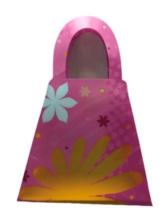 Retro Flower Purse-shaped Treat Loot Bags