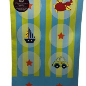 Baby Shower Speed Star Baby Shower Gift Wrap Sheet