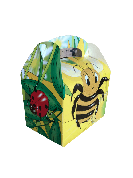 Insects and bugs cupcake treat boxes