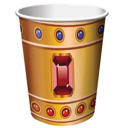 Pirate party buried treasure jewel paper cups