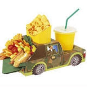 Camo Jeep Army Meal Tray