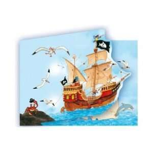 pirate captain sharky invitation