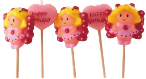 Fairy Butterfly Princess Candles