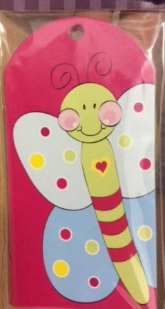 Candy Wings Party Bag Tags