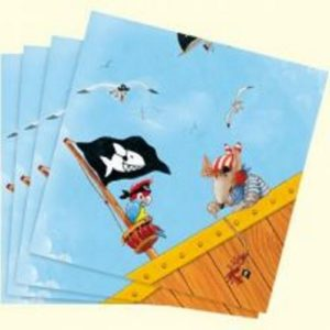 Pirate Captain Sharky Napkins