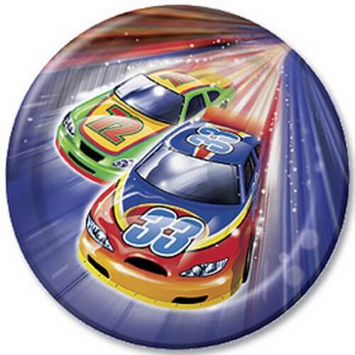 Car Racing Start Your Engines Dinner Plates