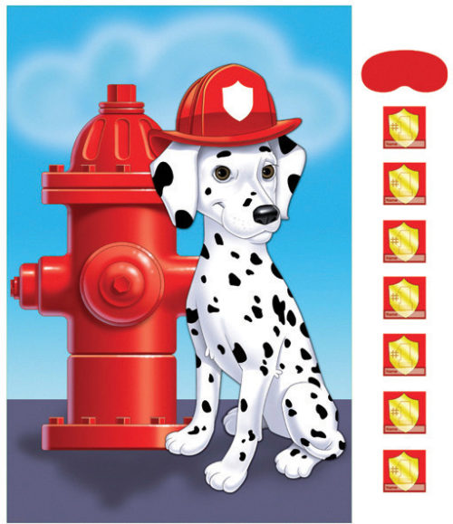 Dalmatian Firehouse Dog Pin game