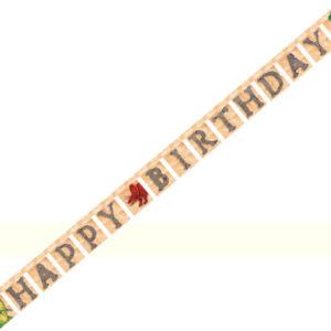 Dinosaur Happy Birthday Jointed Banner