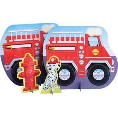 Fireman Fire Truck Table Centre Piece