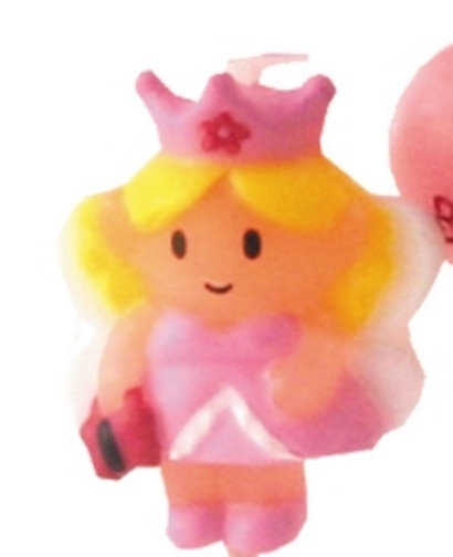 Pink Fairy Princess Candle