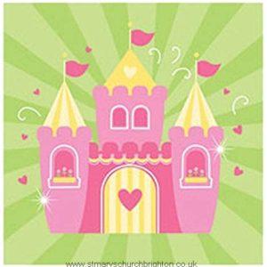 Fairy Tale Princess Birthday Party Napkins