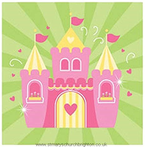 Fairy Tale Princess Birthday Party Napkins