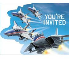Fighter Pilot invitations