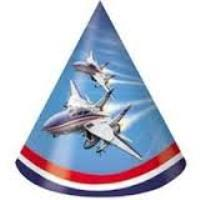 Fighter Pilot Jet Plane Party Hats