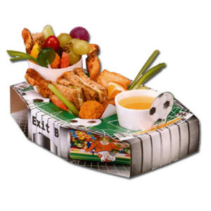 Football Soccer Stadium Meal Tray
