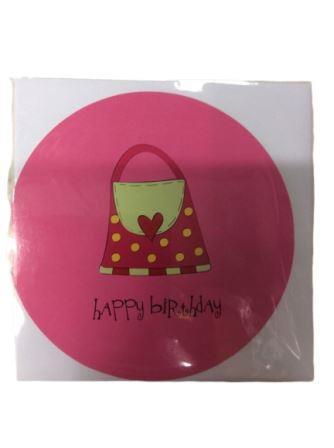 Handbag Shopping Party Greeting Card