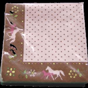 Horse friends napkins