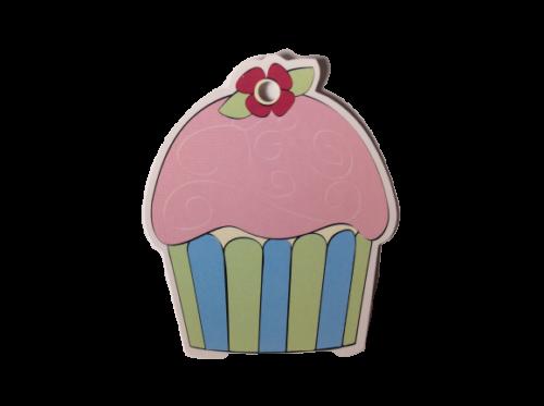 Pink Icing Cupcake Gift Tags