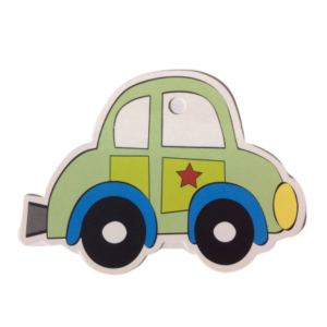 Little Green Car Gift Tags