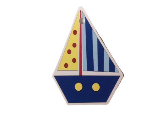 Yacht Blue Boat Gift Tags
