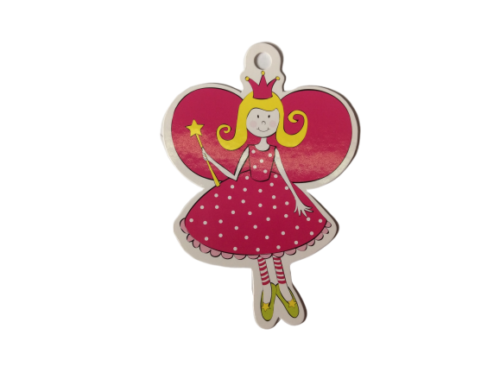 Pink Fairy Princess Gift Tags