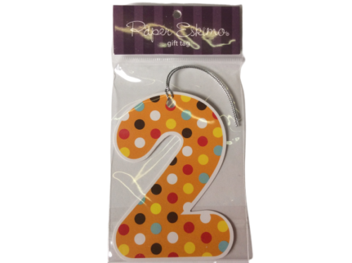 No.2 Spotted Gift Tags