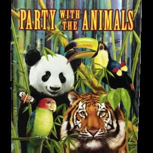 Wild One Wild Jungle Animals Party Invitations