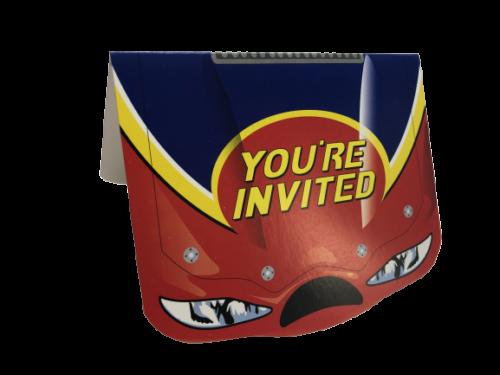 Car Racing Party Invitations
