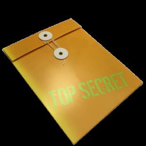 'Top Secret' Spy Party Invitations
