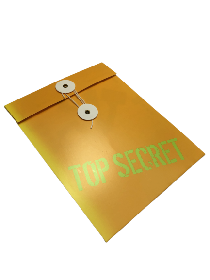'Top Secret' Spy Party Invitations