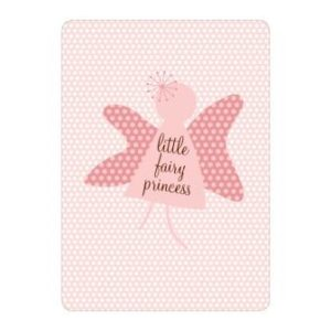 Little Fairy Princess Girls 1st birthday invitations
