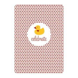 Baby Shower Rubber Ducky Party Invitations