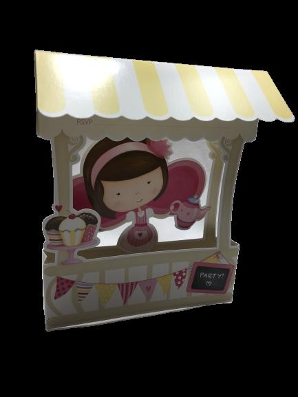 Cupcake Princess Invitations