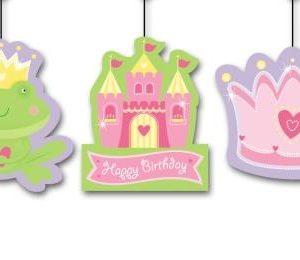 Fairytale Princess Marabou Pink Hanging Garland