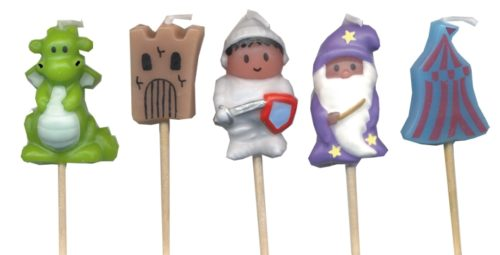 medieval knights Merlin candles