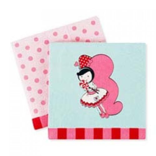 Butterfly Princess party napkins