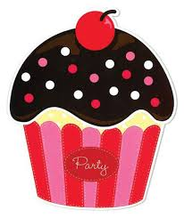 Cupcake Cherry on Top Birthday Party Invitations