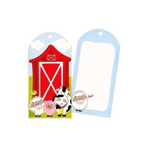 Farm Friends Party Bag Tags