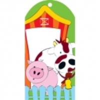 Farm House Party Bag Tags