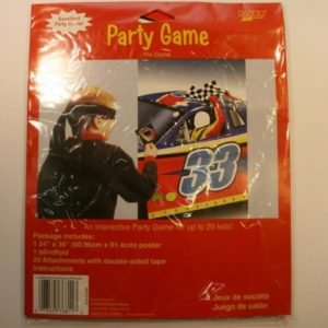 Start Your Engines Car Racing Party Pin Game
