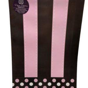 Striped Pink Gift Wrap Sheet