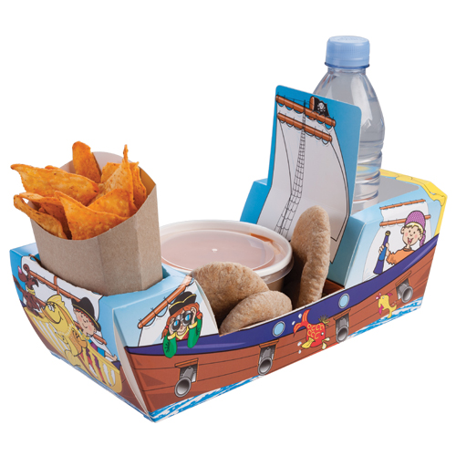 Pirate Ship Meal Tray