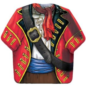 Pirate Buried Treasure Shirt Shaped Paper Plates