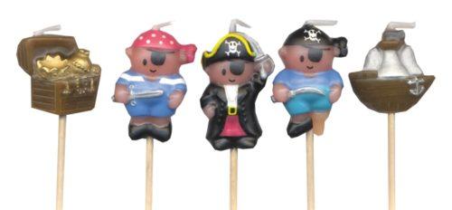 pirates and treasure candles