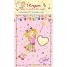Princess Lillifee Pink Party Loot Bags