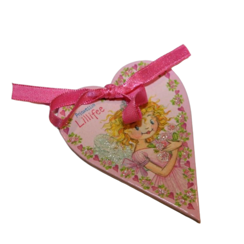 Princess Lillifee mini heart shaped notepad