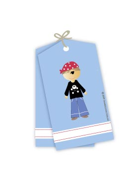 Pirate Boy Gift Tags