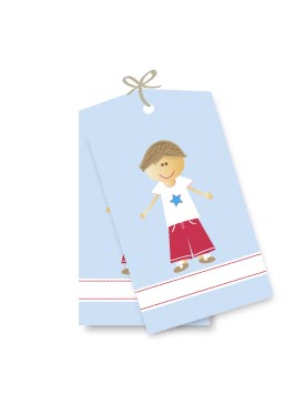 Star Boy Gift Tags