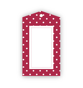 Red Polka Dot Ladybug Gift Tags